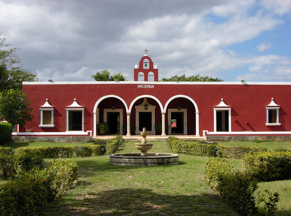 A hacienda in Mexico