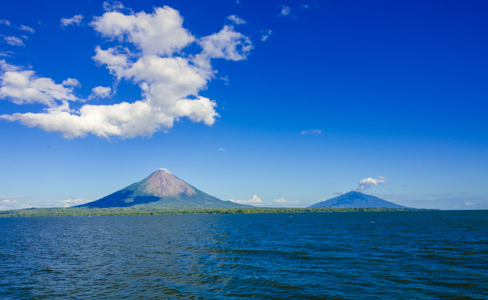 Explore the lake Nicaragua and watch the volcano.