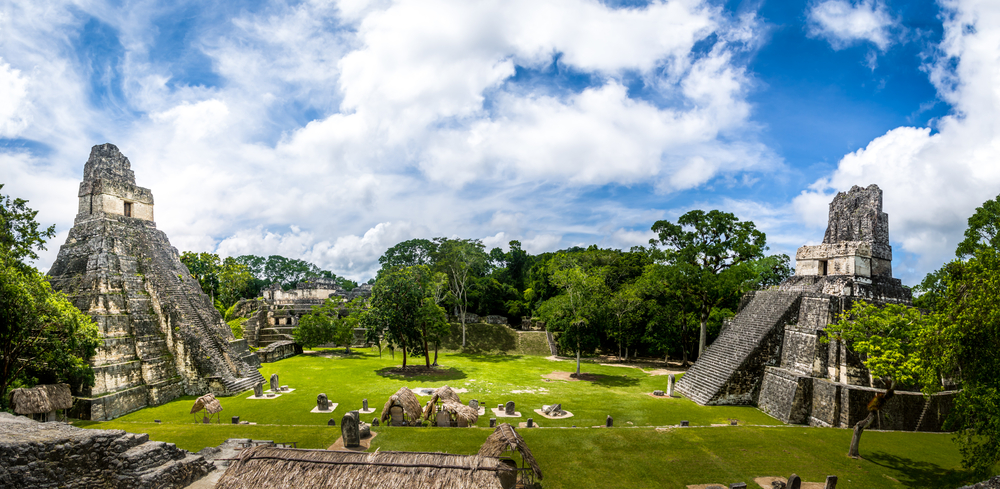 Visit the Tikal National Park during your Central America adventure in Guatemala