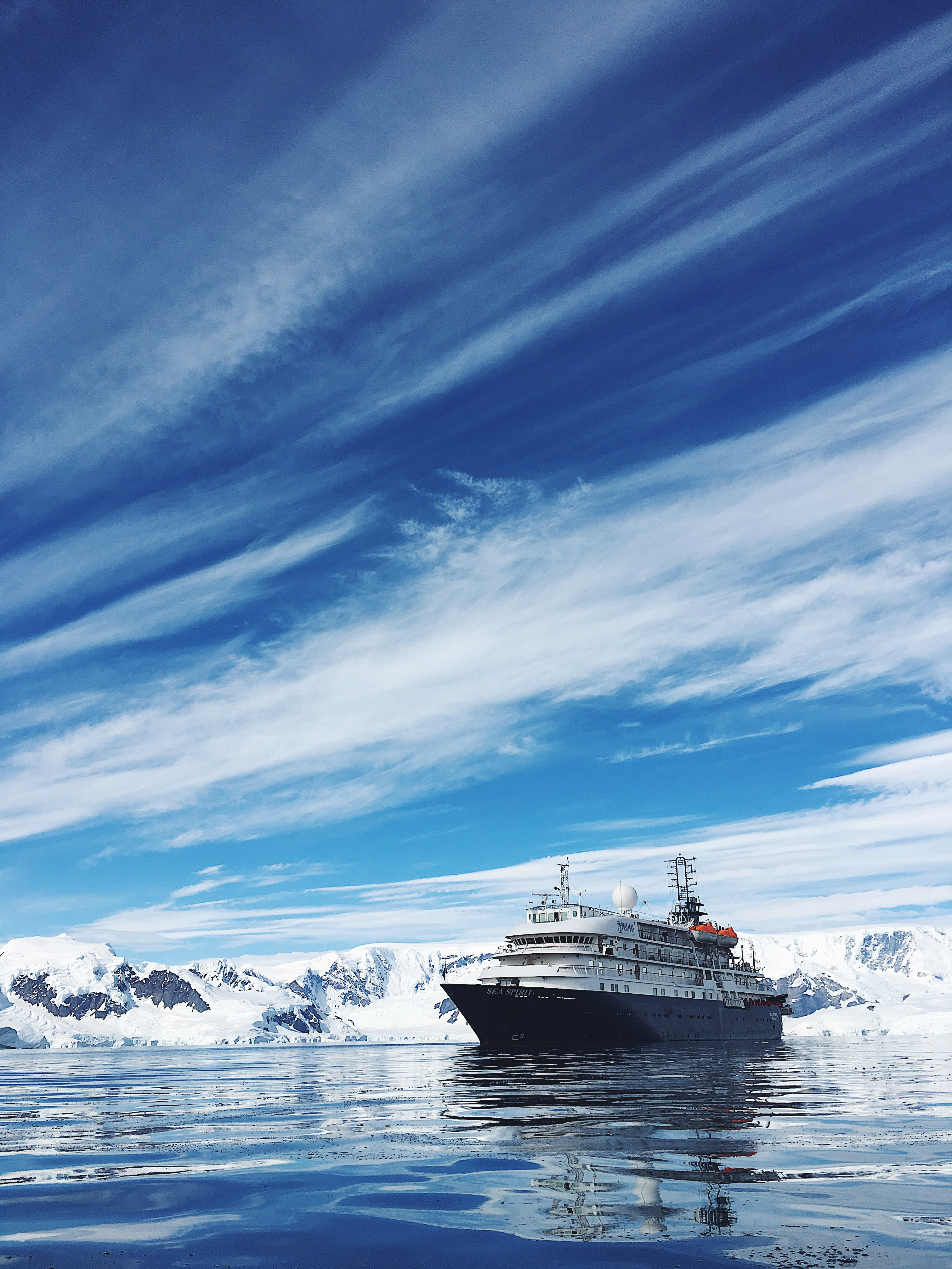 The Antarctic Expedition with Chimu Adventures on-board the Sea Spirit.