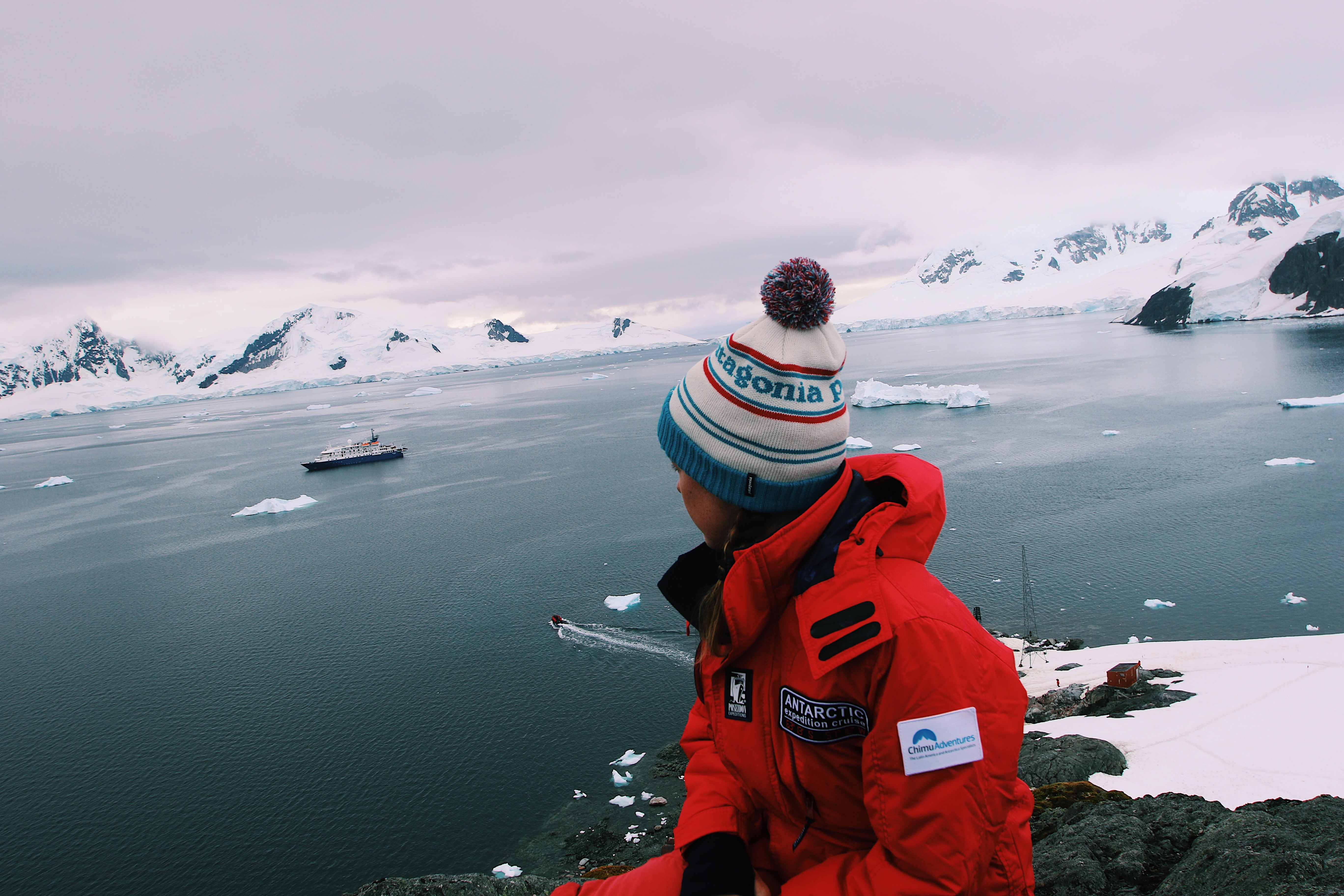 Sophie Hardcastle on her Antarctic Expedition with Chimu Adventures changed her life