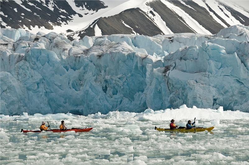 Kayaking in Greenland