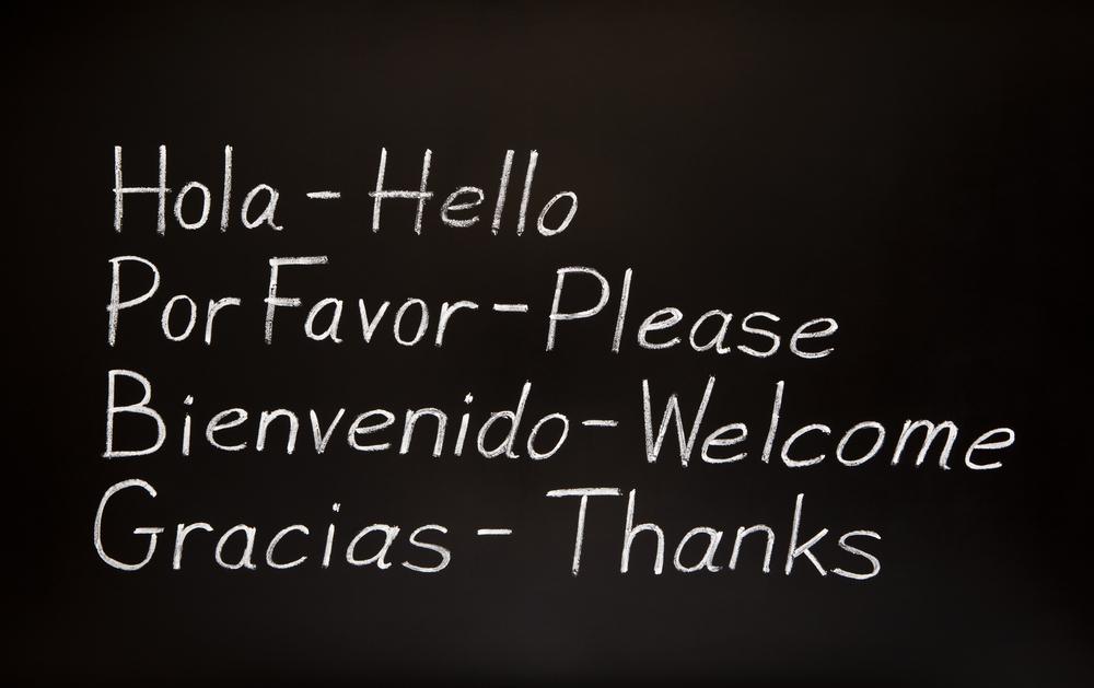 Basic Language translations from Spanish to English.
