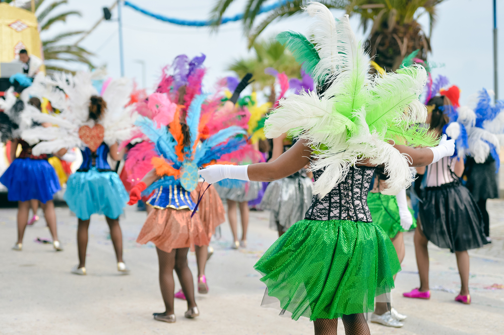 Catch the Carnival in Rio! Photo credit: shutterstock