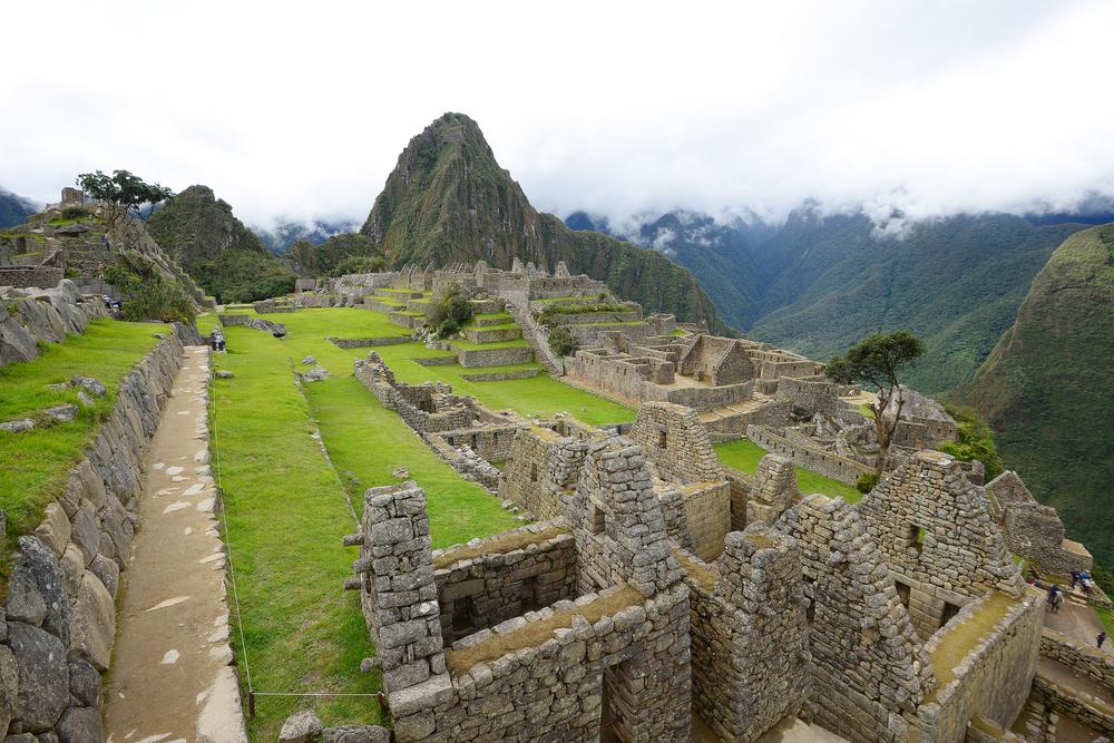 Inca ancient ruins in Peru