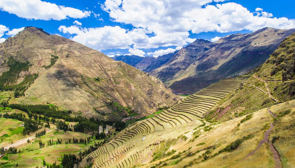 Mountain view in Peru