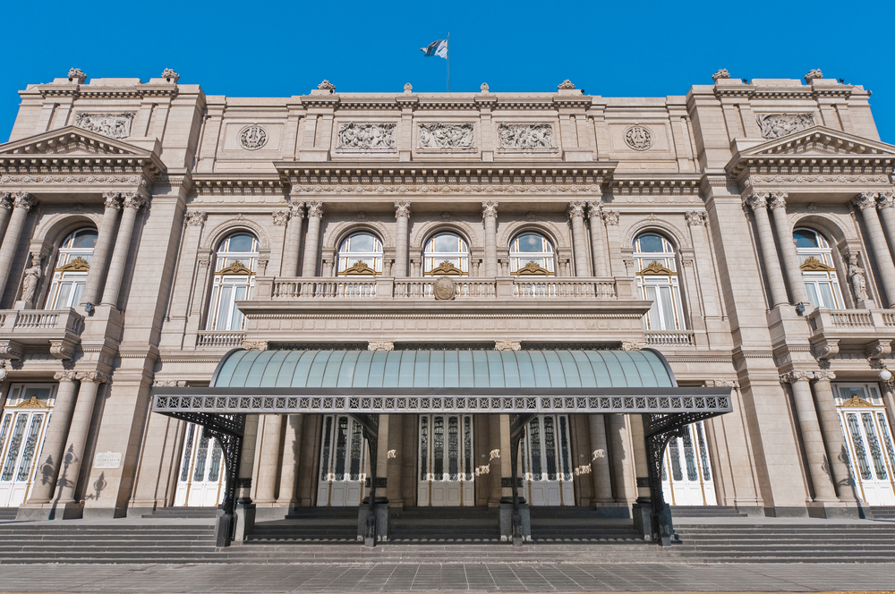 Teatro Colon in buenos aires at daytime