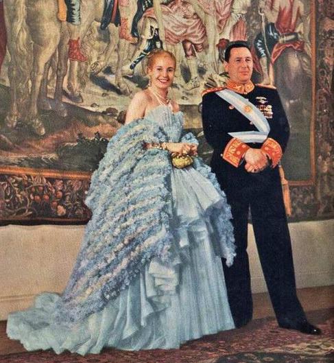 Juan Domingo and Eva Perón