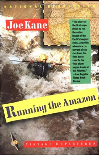 Running the Amazon by Joe Kane book cover