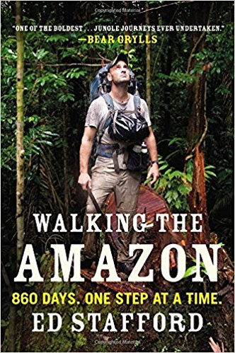 Walking the Amazon by Ed Stafford book cover