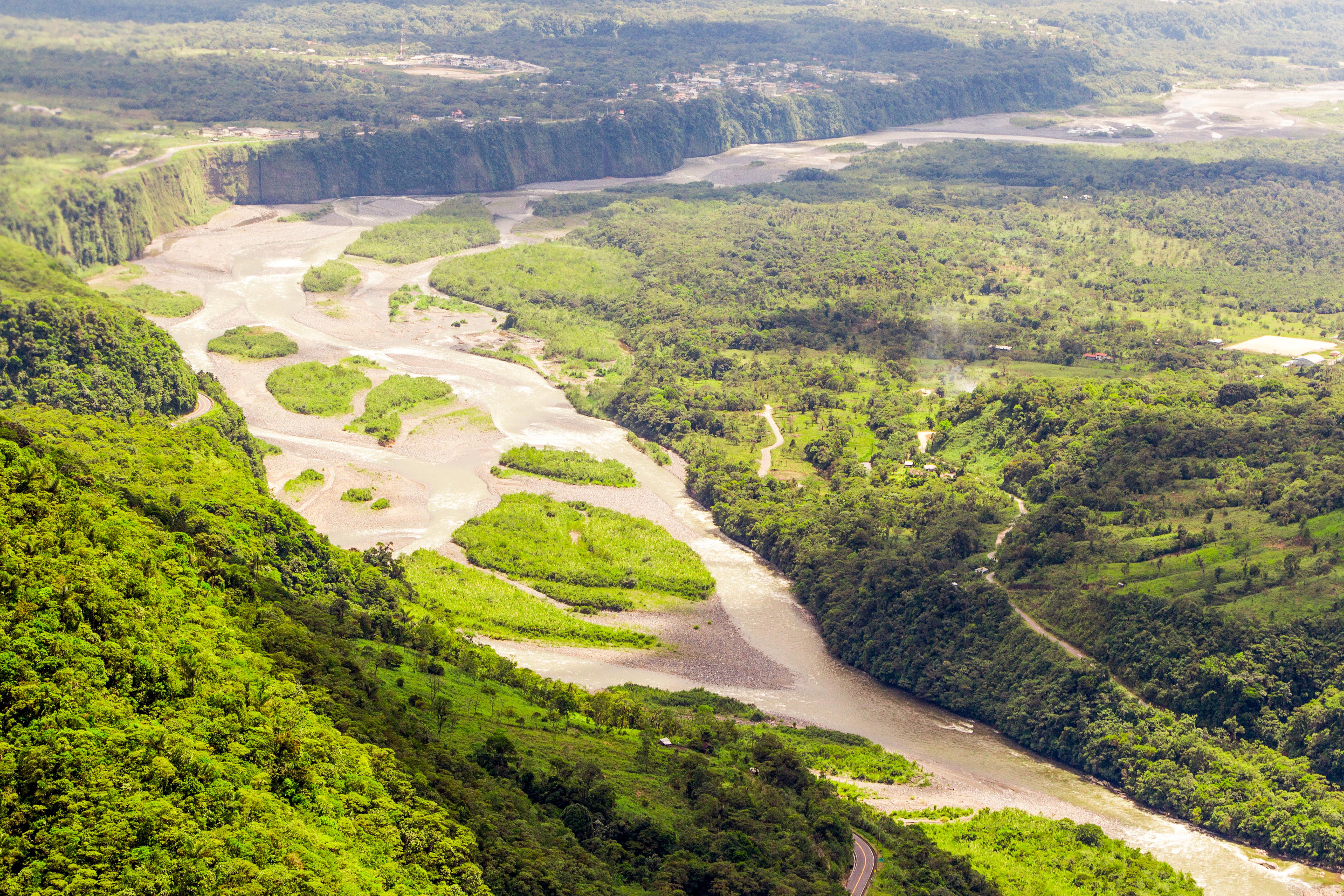 Pastaza River Basin in the Amazon
