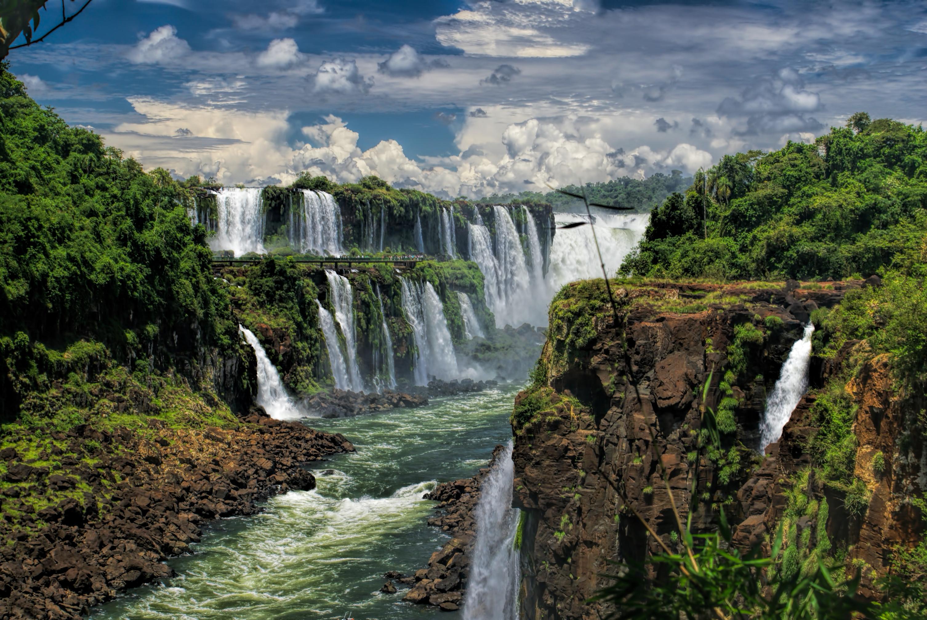 Iguazu Falls in Argentina, South America