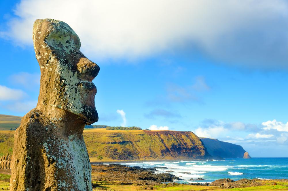 Canteras de Moai, South America
