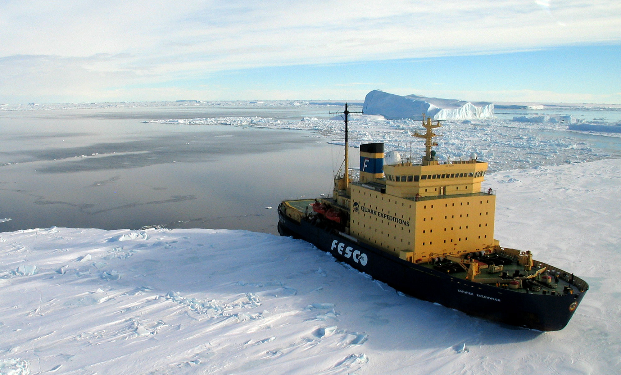 Learn about Icebreaker ships to Antarctica and the Arctic