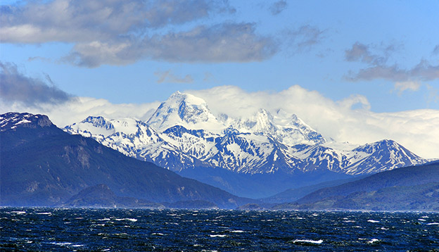 The Beagle Channel. Photo Credit: Shutterstock