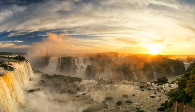 Iguazu Falls in Brazil. Photo Credit: Shutterstock.