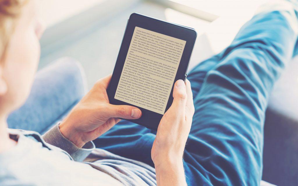 E-book reader.