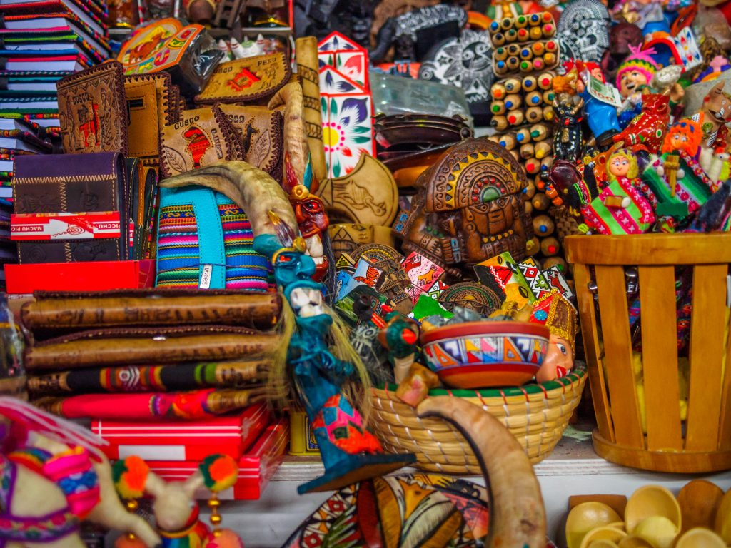Market in Cusco credit: shutterstock