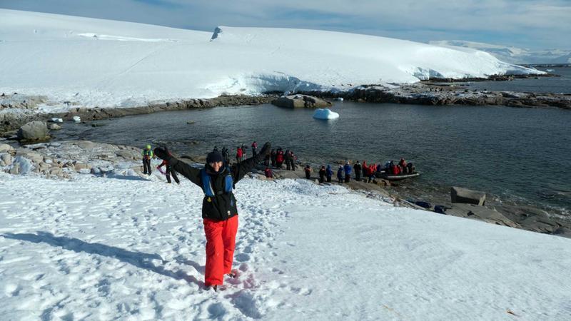 Travelling solo in Antarctica