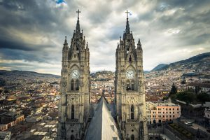 Basilica of the National Vote in Quito, Ecuador credit shutterstock
