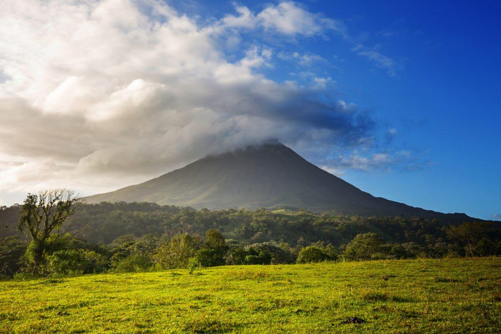 Scenic Arenal volcano in Costa Rica, Central America credit shutterstock