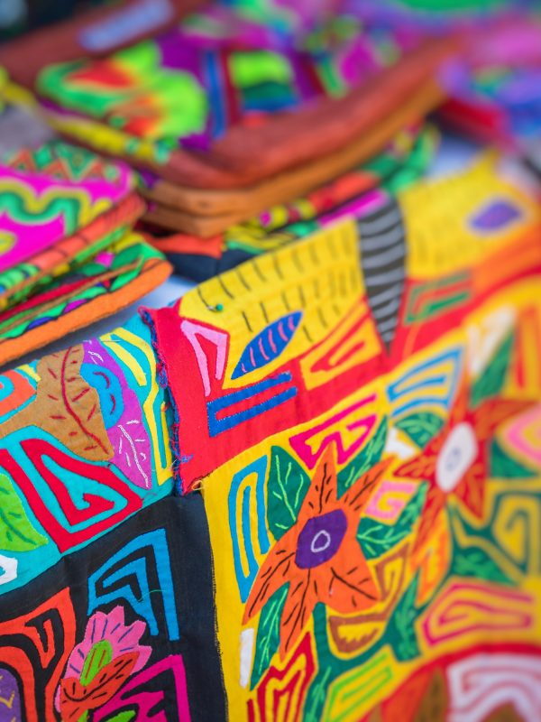 Street stall with hand-made souvenirs from Panama city Credit Shutterstock