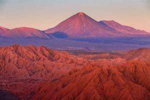 Atacama desert at sunset Credit: Shutterstock.