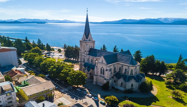 Church in the city of Bariloche, Argentina.