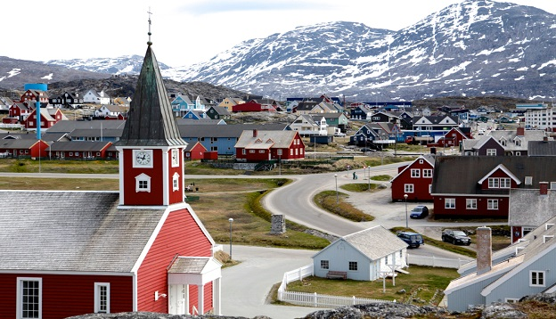 Cathedral in Nuuk, Greenland