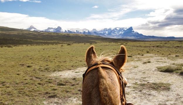Horseback riding, Patagonia
