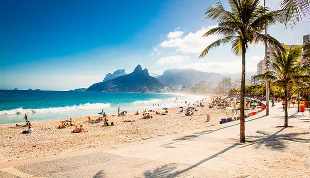 Ipanema Beach, Rio de Janeiro. Photo Credit: Shutterstock