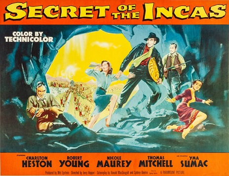 Secret of the Incas poster. Photo Credit: Heritage Auctions