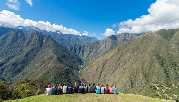 Overlooking the Andes Mountains. Photo Credit: Shutterstock