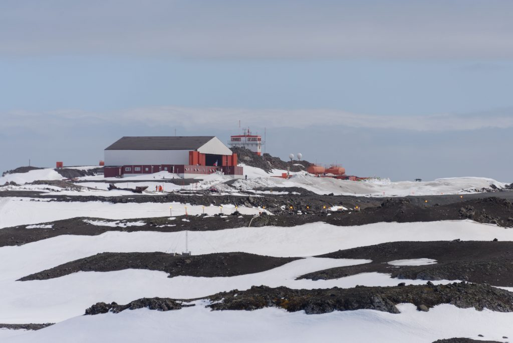 Chilean research station in Antarctica on King George Island
