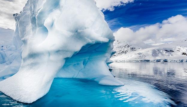 Ice caps in Antarctica. Photo Credit: Shutterstock