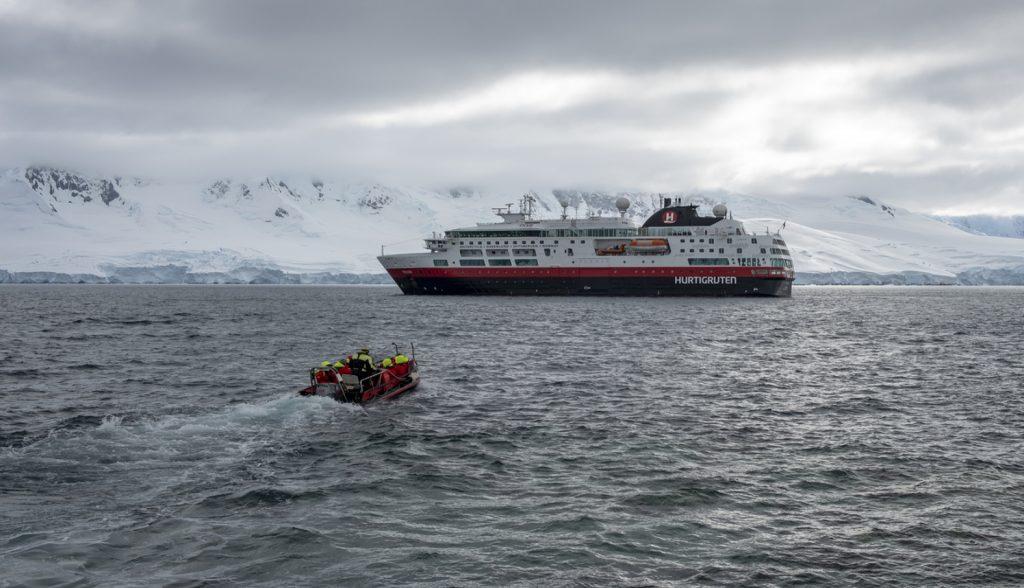World leader in explorer travel, Hurtigruten. Photo credit: Hurtigruten