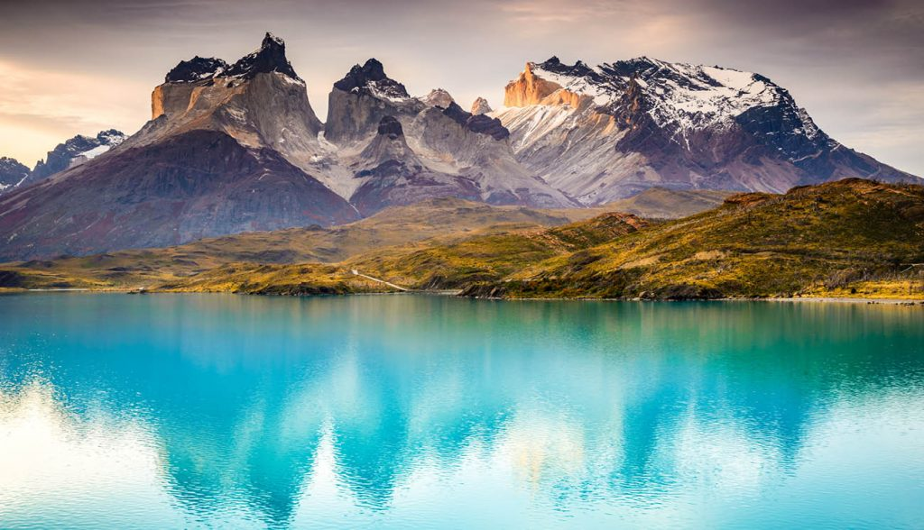 The breathtaking peaks of Torres del Paine, Patagonia