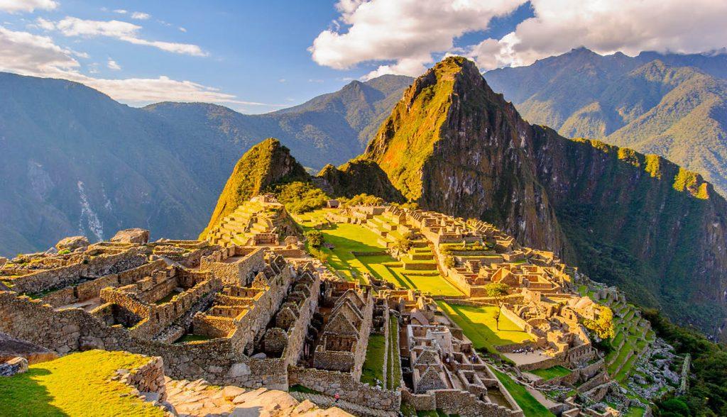 Machu Picchu (Peru, Southa America), a UNESCO World Heritage Site