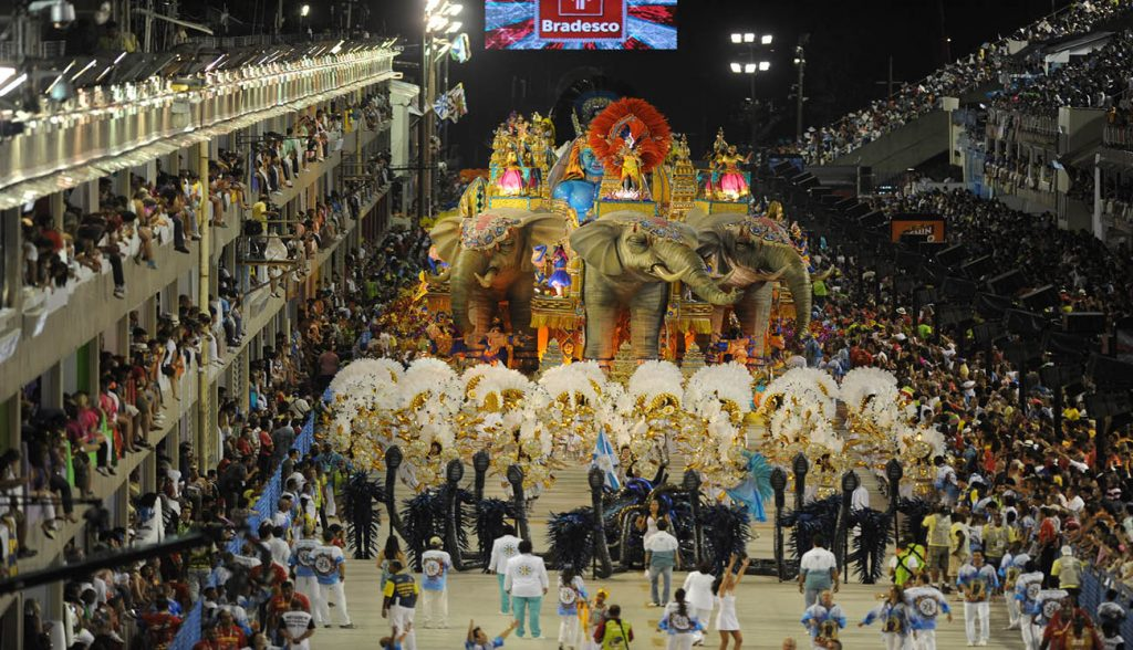 The fabulous Rio Carnival, Brazil
