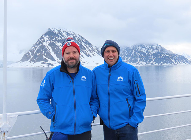 Greg-Carter-and-Chad-Carey-in-the-Arctic