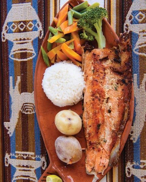 Restaurant, Andean Explorer.