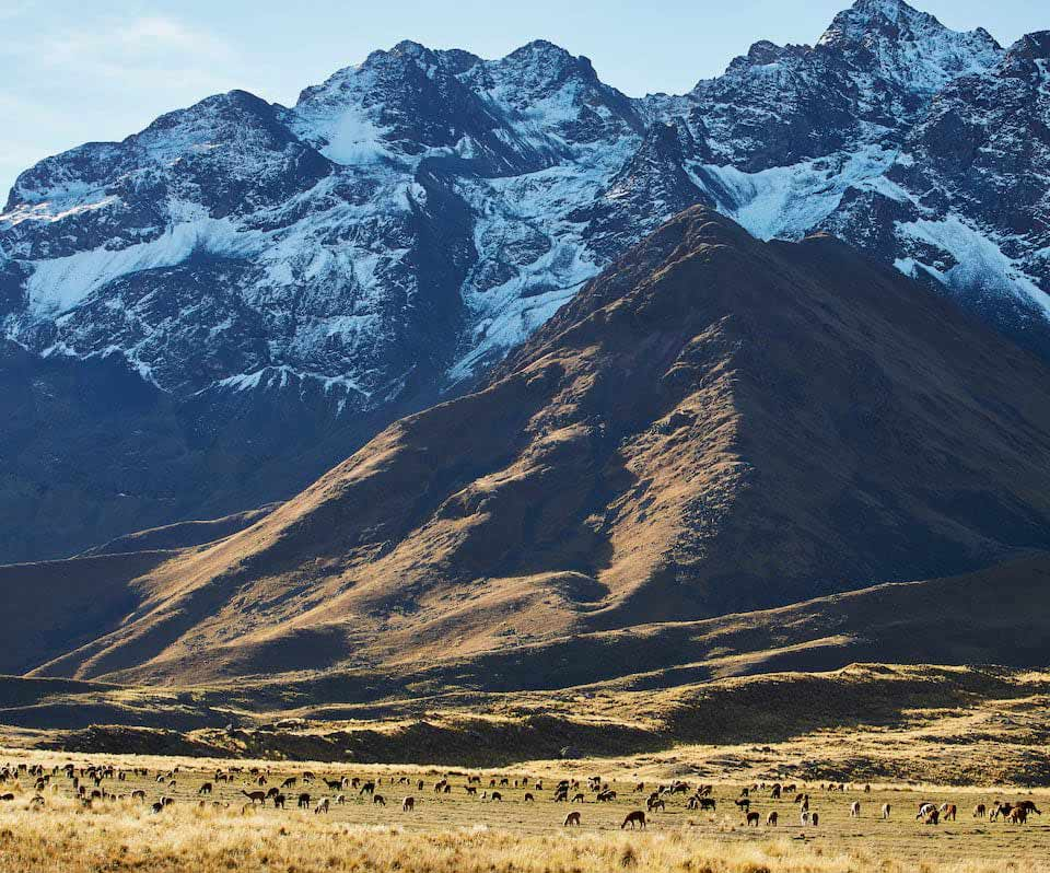 The Andes, Peru.
