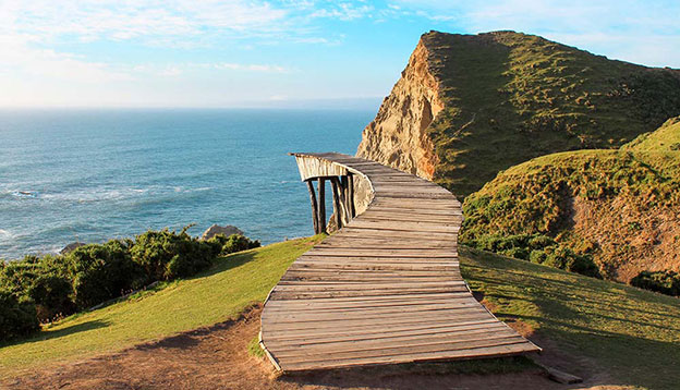 Muelle de las Almas. Chiloe Island. Photo - Shutterstock
