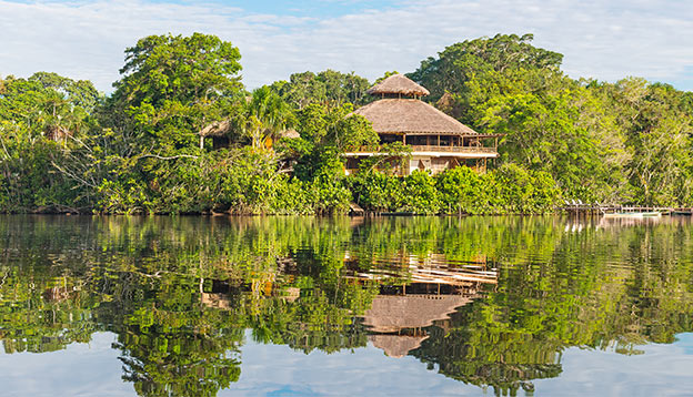 Lodge in Amazon