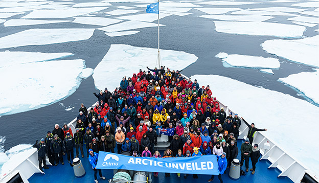Passengers from the Arctic Unveiled.