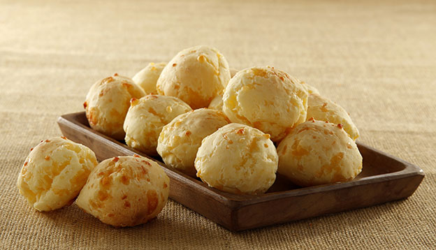 """""""Chipa"""" is a typical South America Small bread made with cassava starch, hard cheese and others ingredients"""