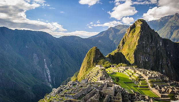 South American culture: Machu Picchu (Peru, Southa America), a UNESCO World Heritage Site