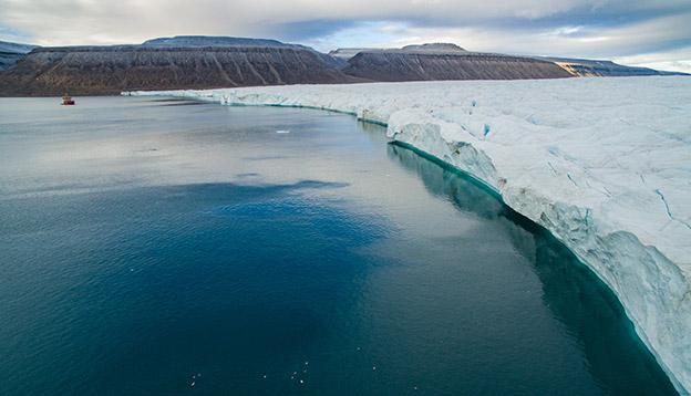 Travel Trends - Croker Bay Glacier, in the Canadian Arctic, Northwest Passage