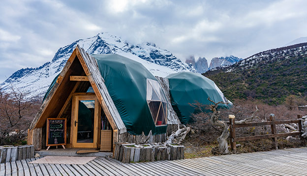 Sustainable Travel - EcoCamp Patagonia