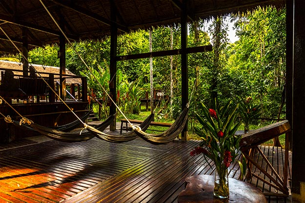 Sustainable Travel - Posada Amazonas lodge